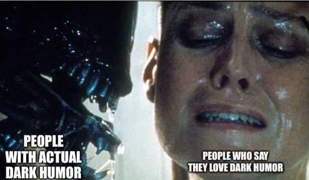 Dark like untapped oil - meme