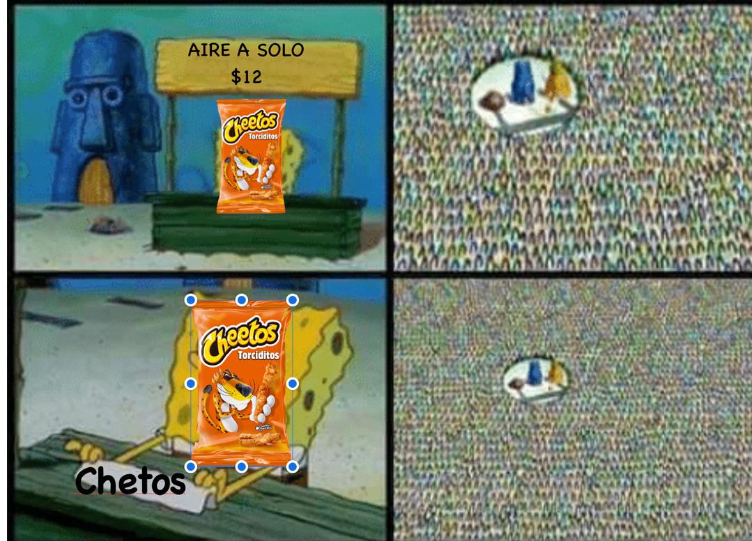 Chetos xd - meme