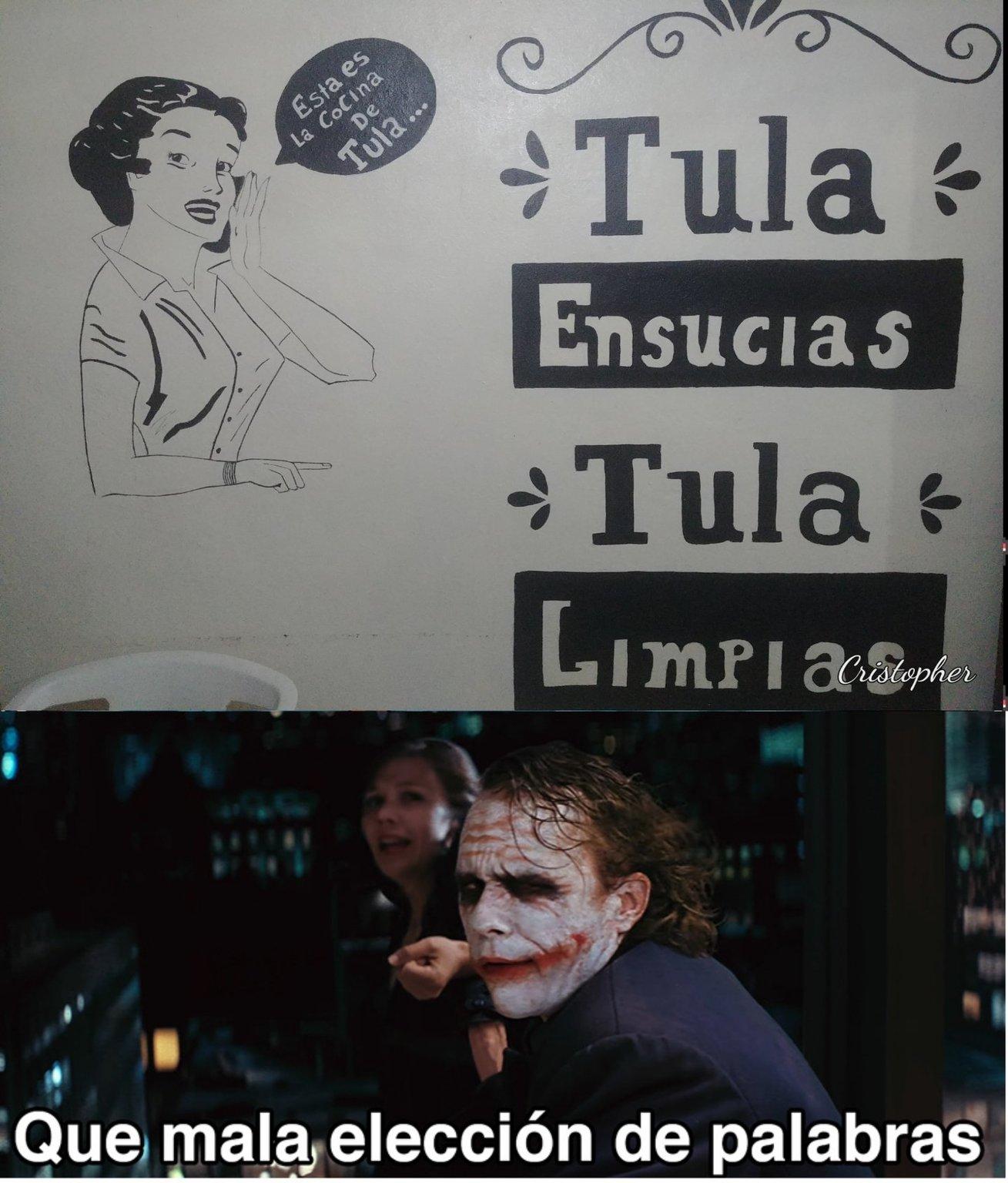 Tula, la bebida favorita de todos los chilenos. - meme