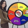 Spin the wheel and decide how to dodge personal responsibility