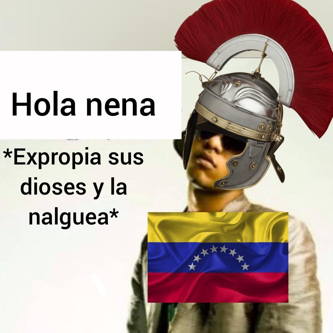 Romanos expropiadores - meme