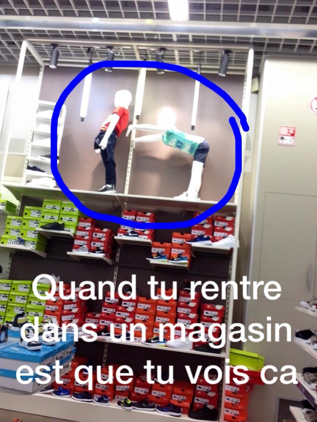 Quand tu rentre dans un magasin ET* - meme