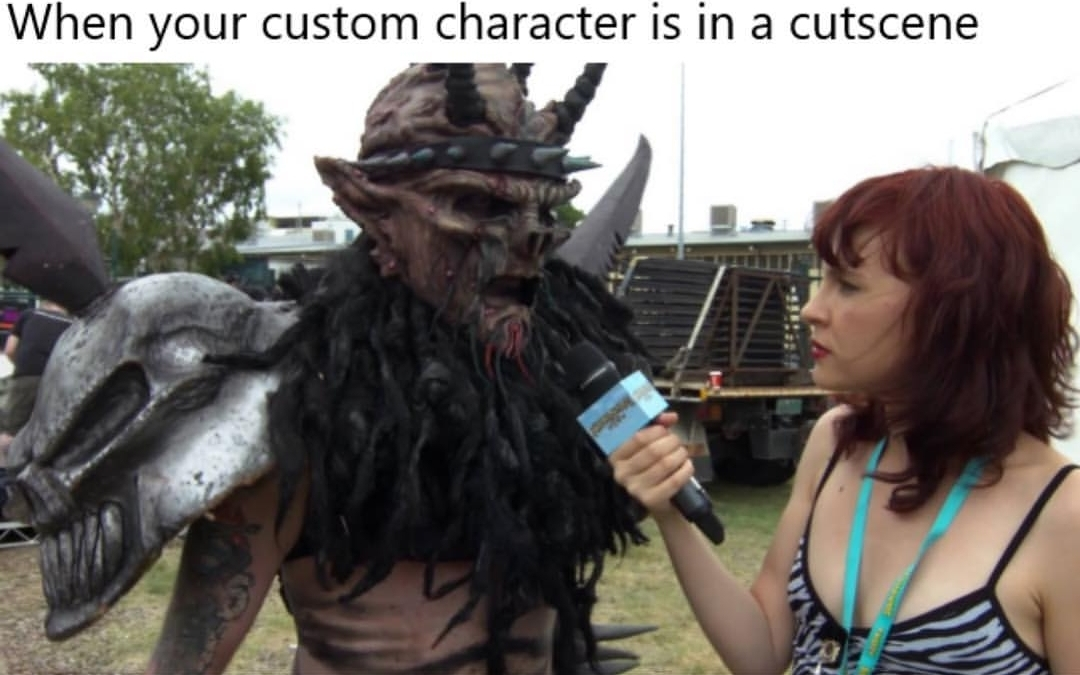 Isn't that Gwar or something? - meme