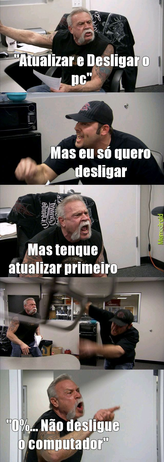 Eu Odeio o Windows... - meme