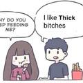 Le thick