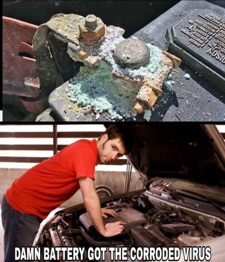 Car covid - meme