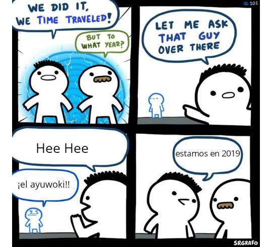 Hee heee *canta smooth criminal* - meme