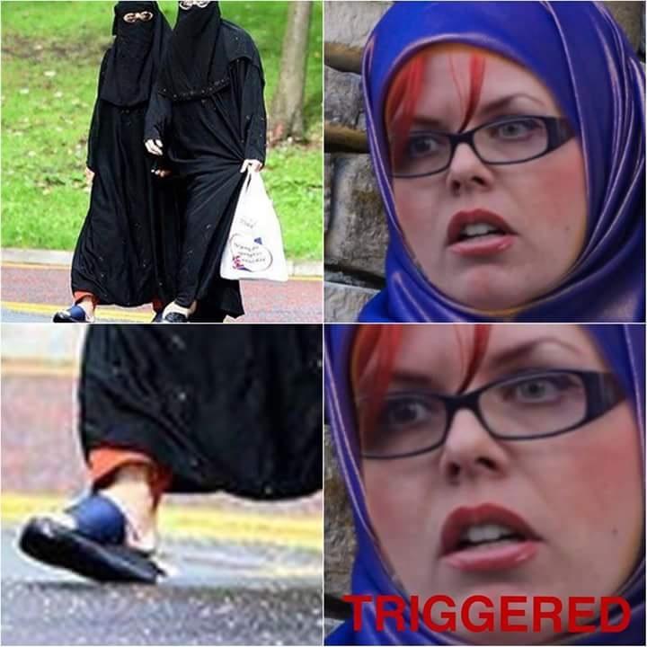 musulmana feminazi - meme