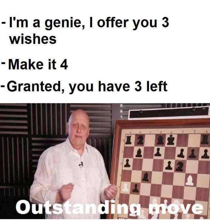 Outstanding move - meme
