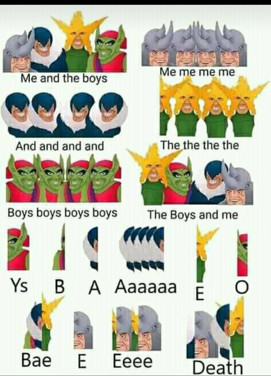 Boys the me and - meme