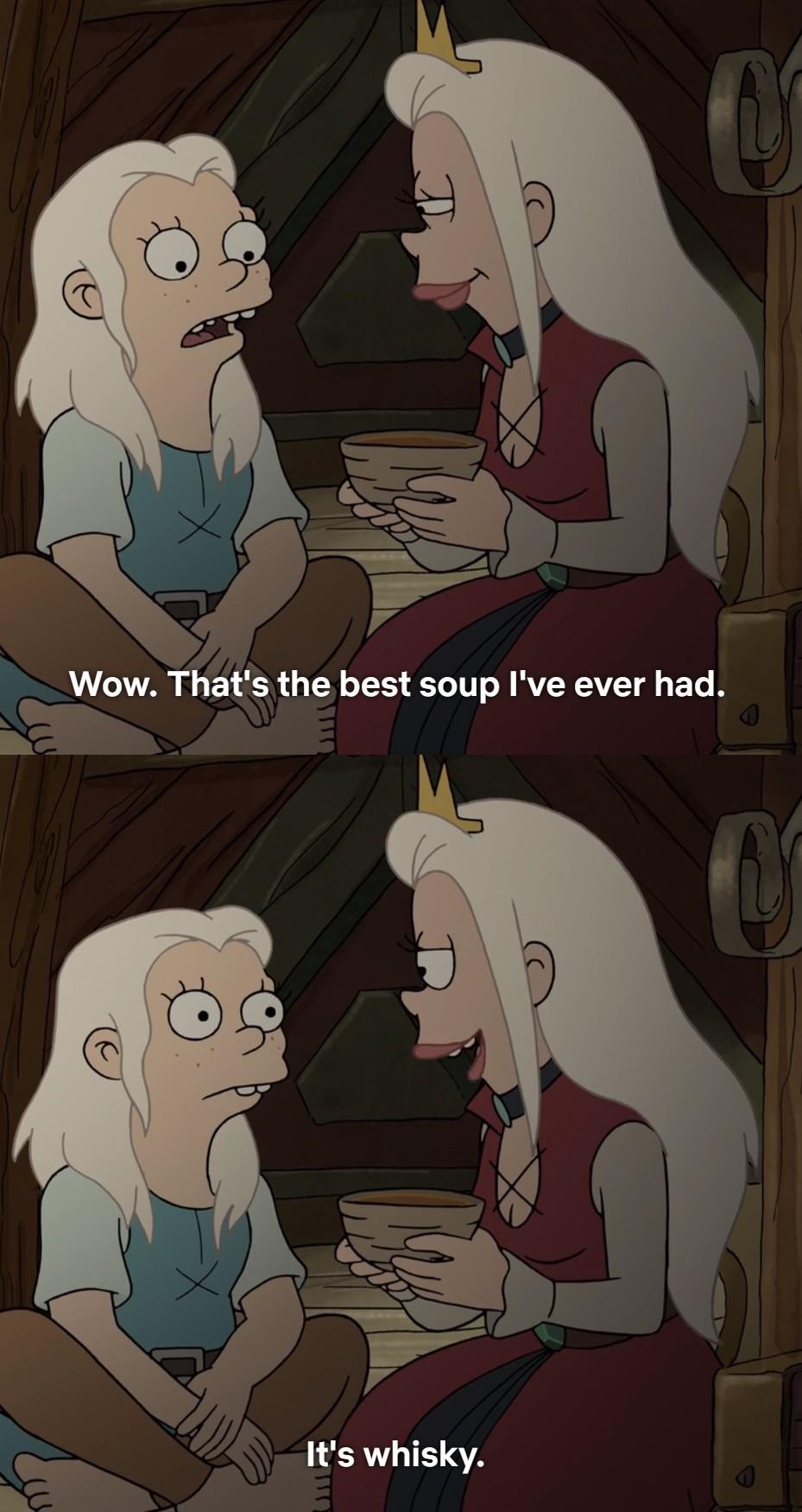 Yummy soap (Disenchanted - Netflix) - meme