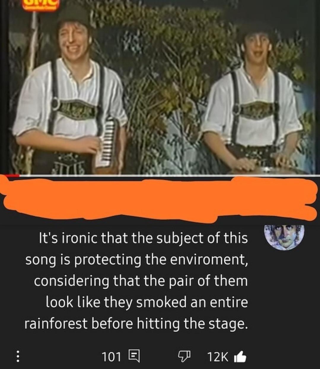Entire rainforest - meme