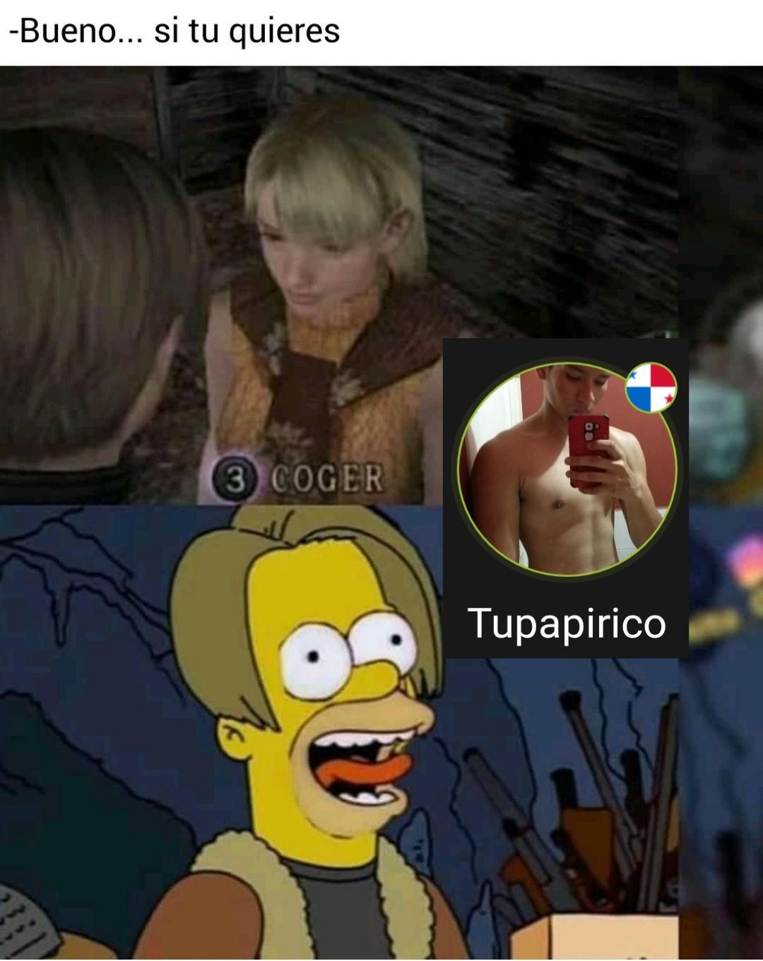 RE4, el mejor Resident - meme