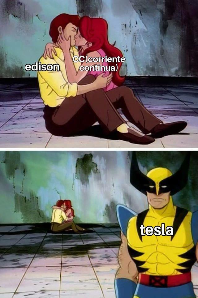 Tesla wins - meme