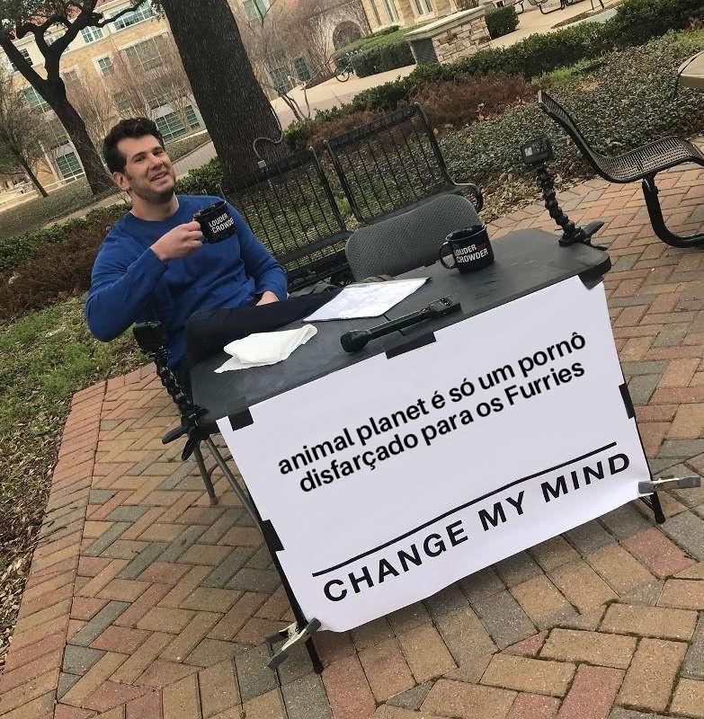 mudem minha mente - meme