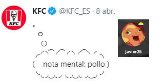 KFC pensante - meme