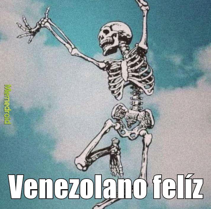 Venezolano felíz - meme
