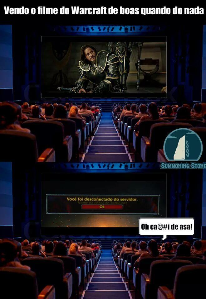O título caiu do servidor - meme