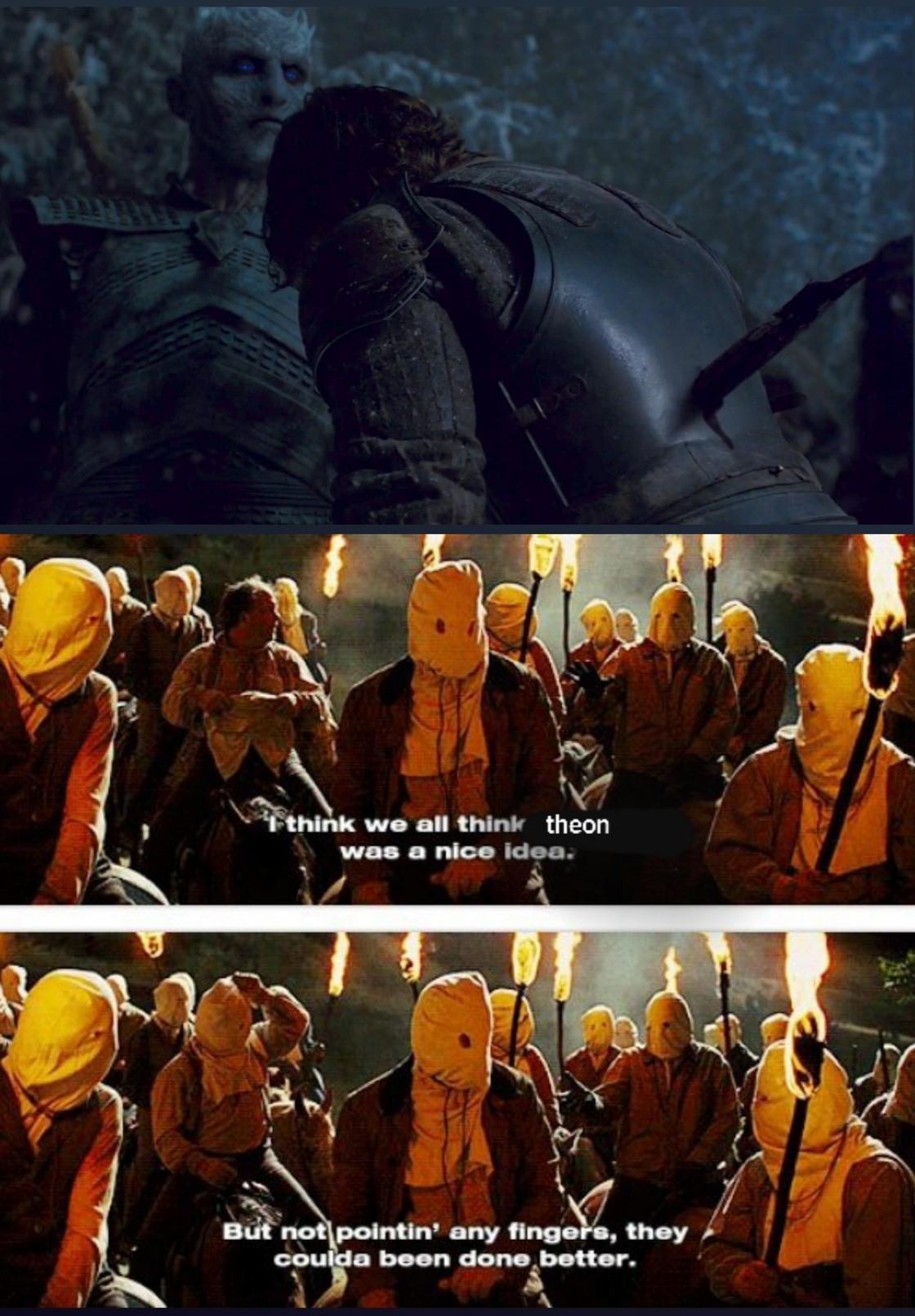 Game of thrones got me like - meme