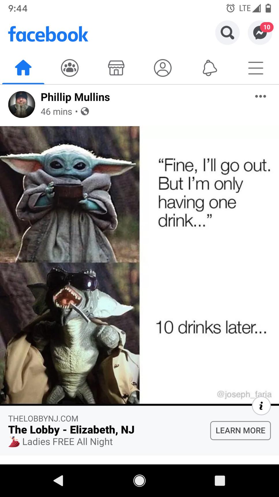 Said no one ever - meme