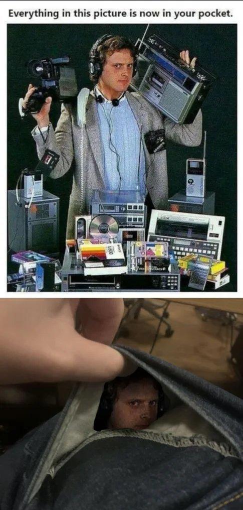 Yeah,he is in your pocket now. - meme