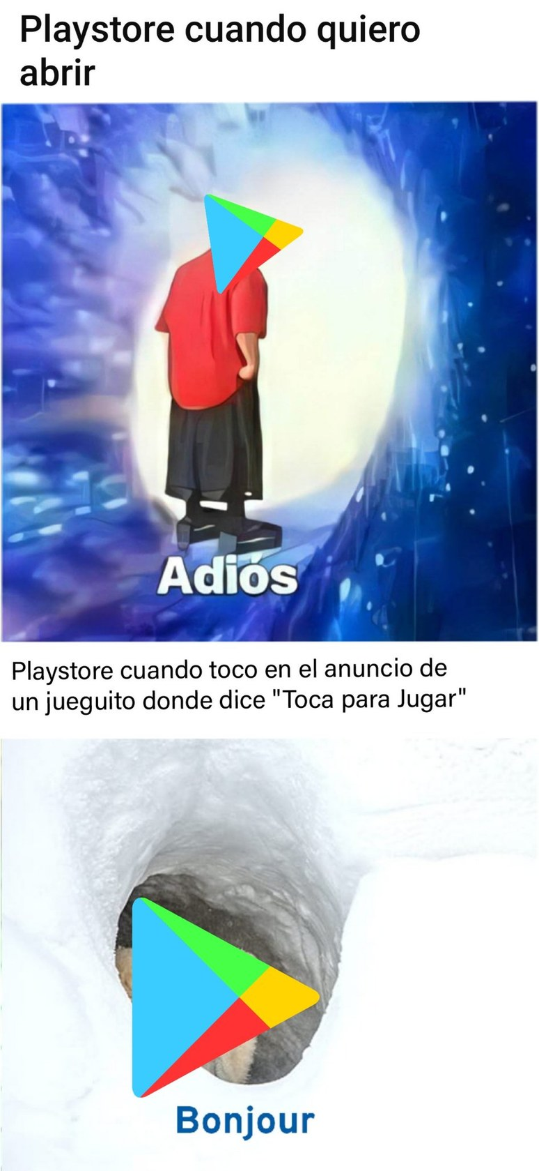 Play Store Meme