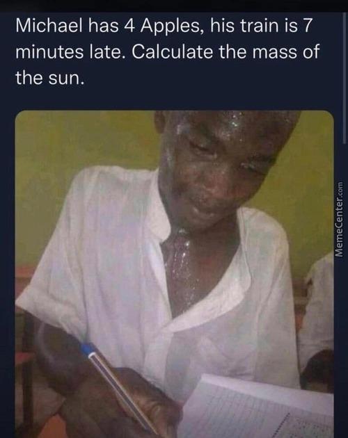 Damn you math - meme