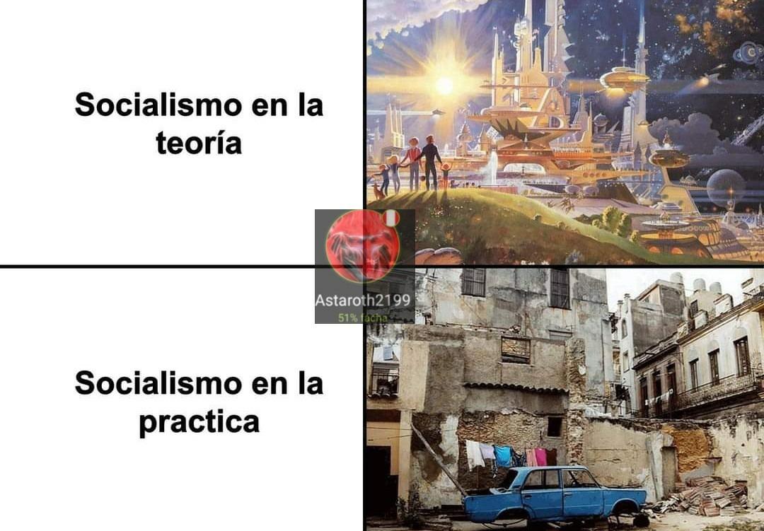 Lo mismo para el comunismo - meme
