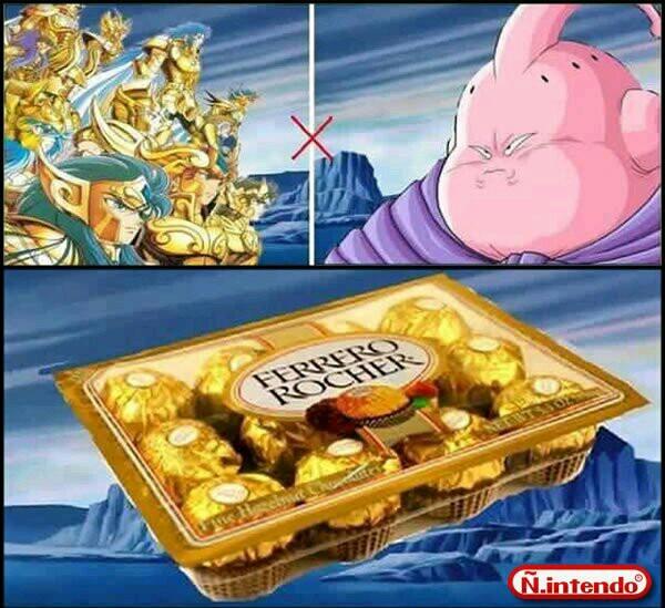 Cavaleiros de chocolate - meme