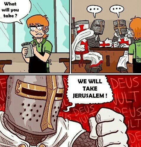 Holy bears for crusaders ! - meme