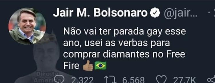 free fire> Brasil - meme