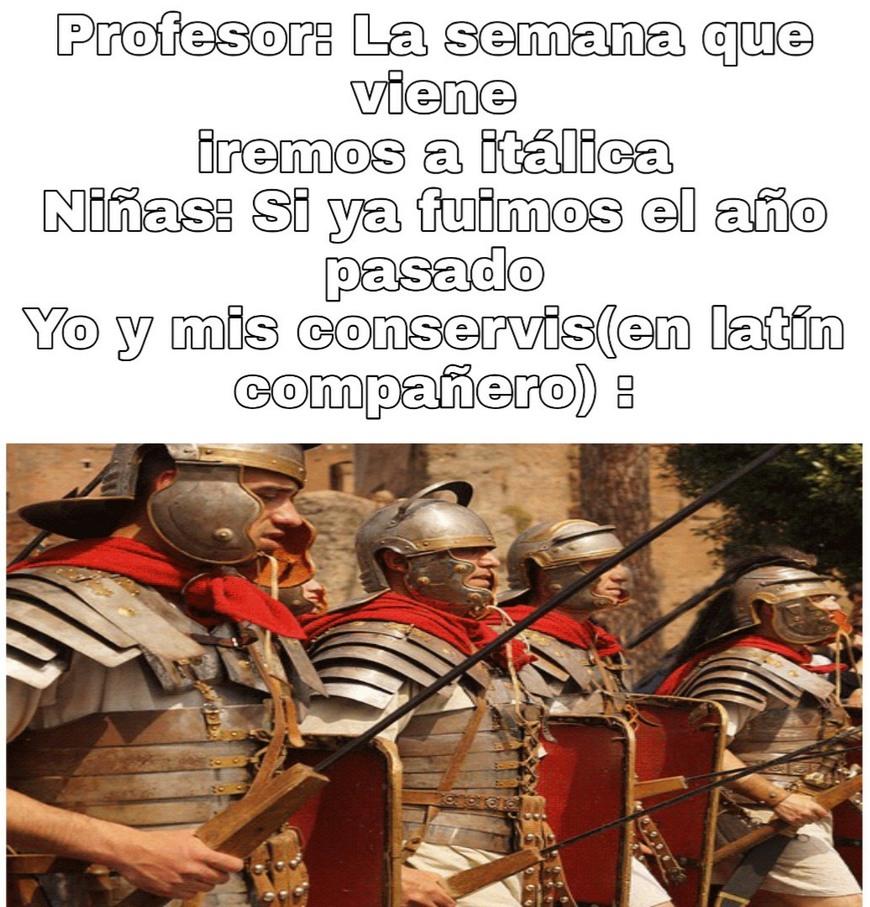 Hic est titulus latine - meme