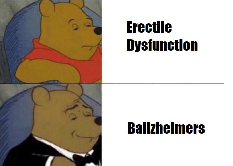 Ballzheimers - meme