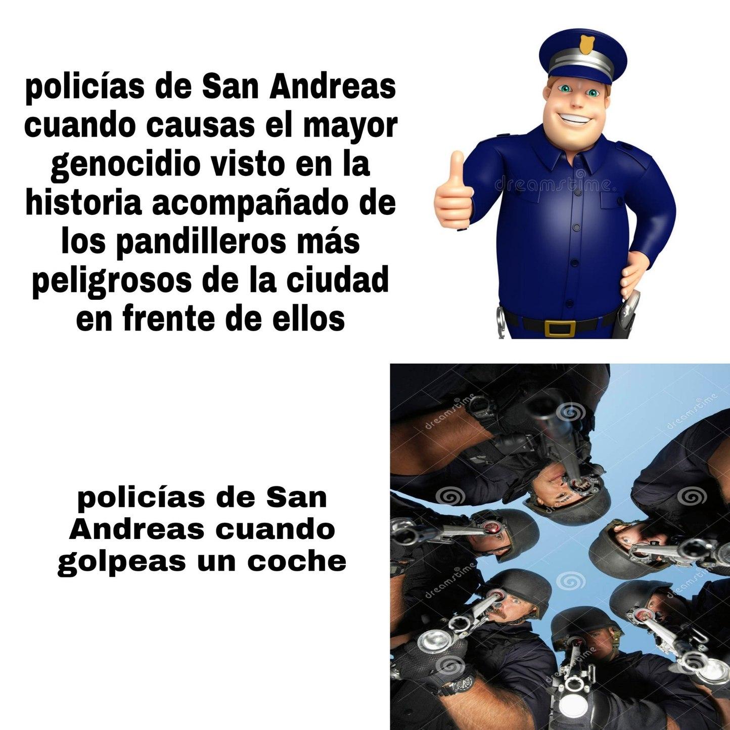 Me ando rejugando el GTA San Andreas ekisde - meme