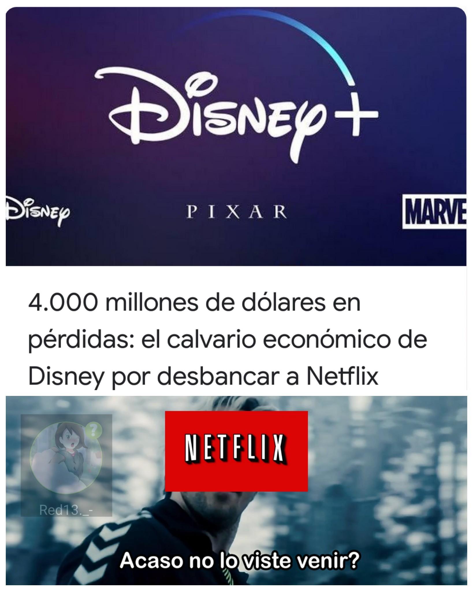 Netflix se recupera - meme