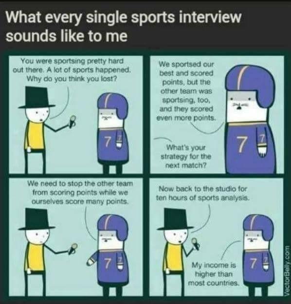 Yay sports ball - meme