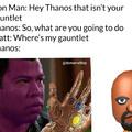 Shit thanos run