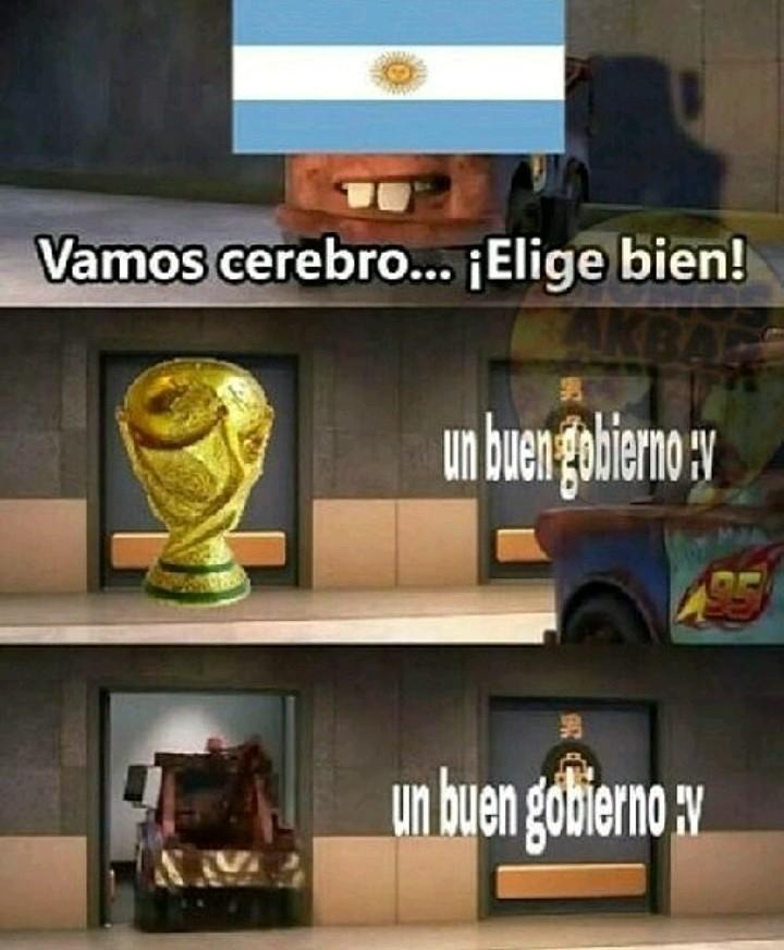 Vamo argentina no ma - meme