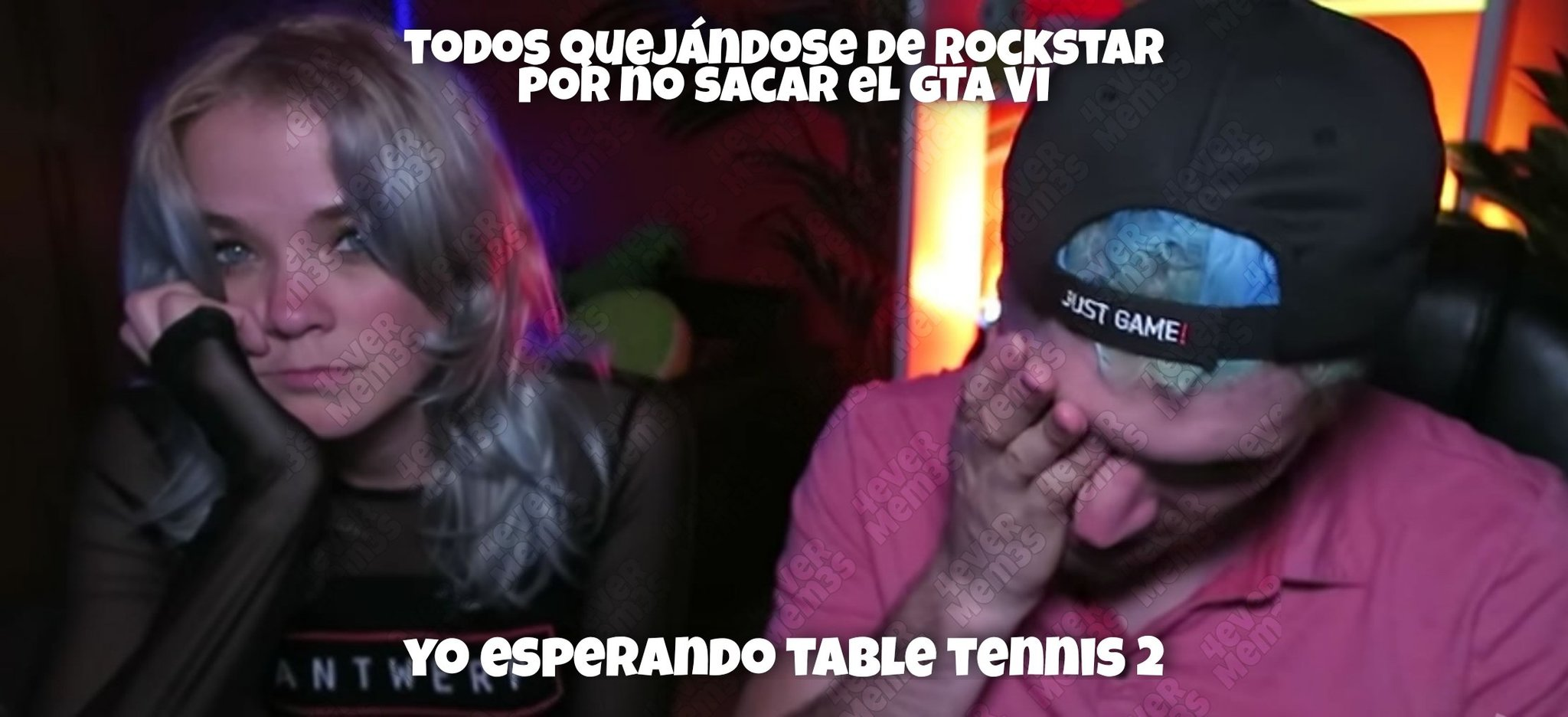 Table tennis >;( - meme