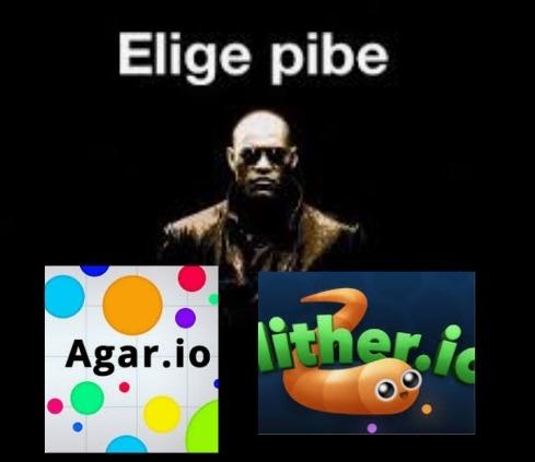 Elige pibe - meme