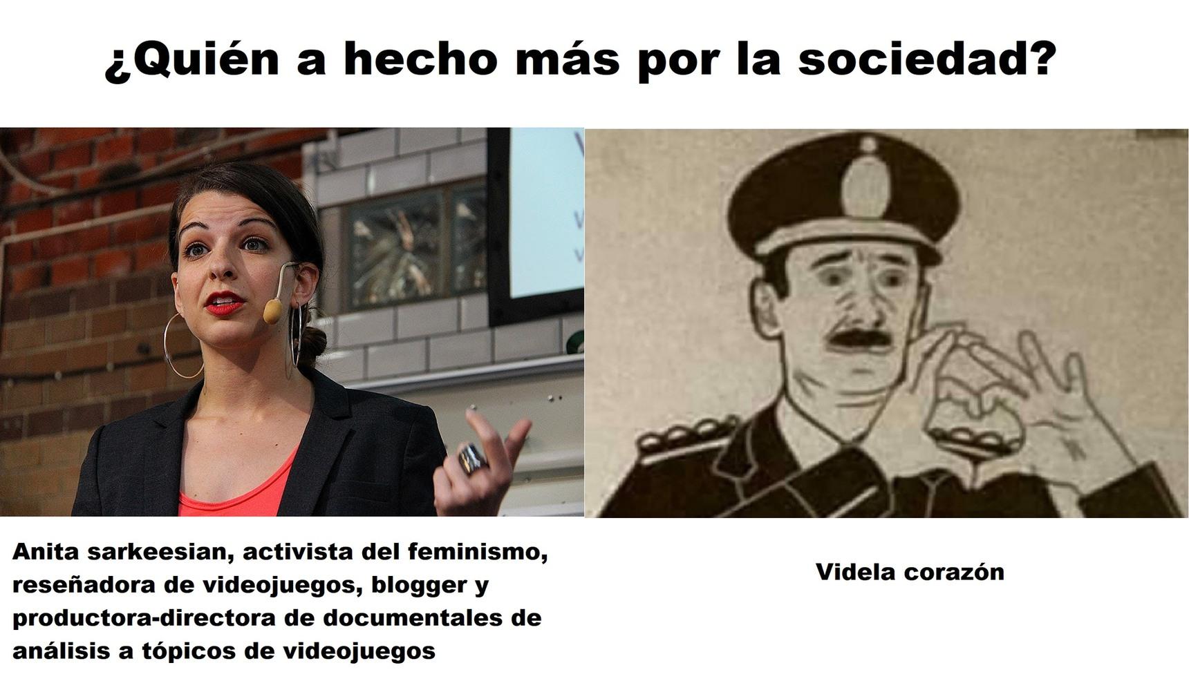 Videla Corazón - meme