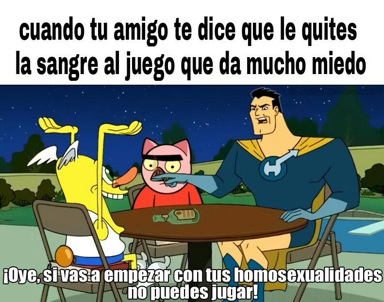 Maricon >:v - meme