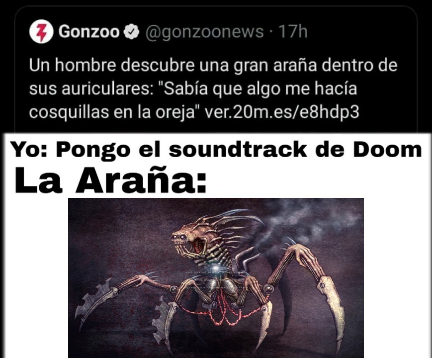 Spiderdimon - meme