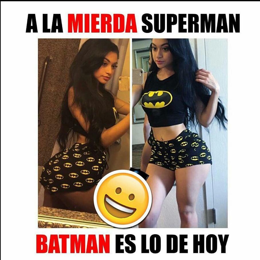 Ahora me gusta bat man - meme