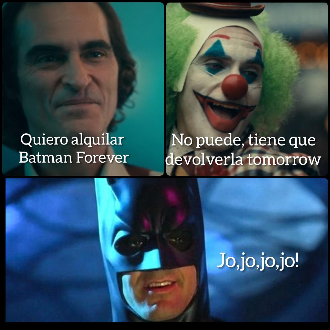 Batman Forever - meme