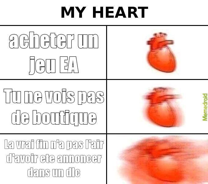 Un jeux EA sans boutique c'est mon rêve - meme