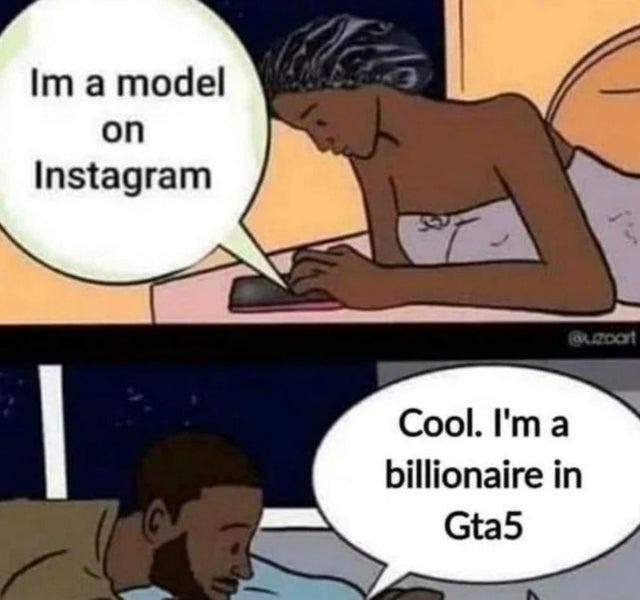 Instagram model - meme