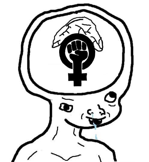 Nueva plantilla (Úsenlo para cuando vean algo feminista) - meme