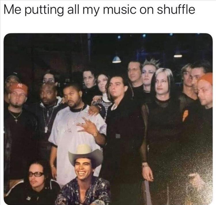 shuffle - meme