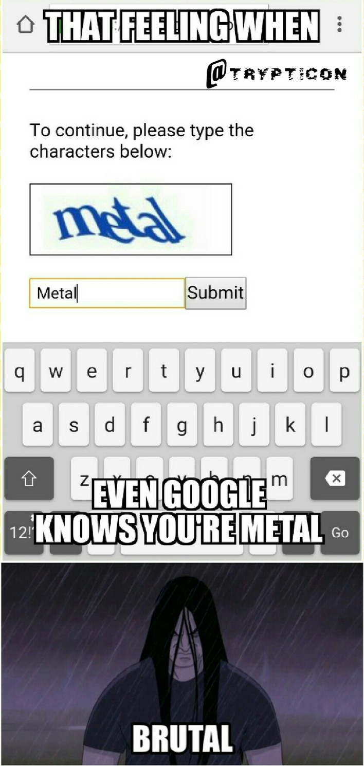 On a scale of Metallica to Meshuggah, how metal are you? - meme